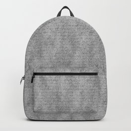 Scots Pine Paper Bag Grey Backpack