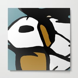Abstract Painting Design - 3 Metal Print