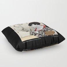 Three Pipe Problem Floor Pillow