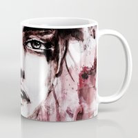 blur Mugs featuring BLUR by Ismael Aguilar Bonet