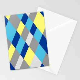 Yellow Prism Stationery Cards