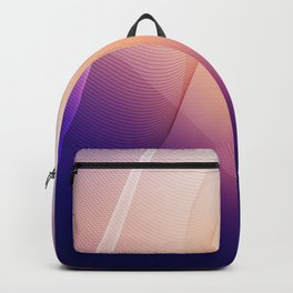Shapes And Colors For Art Lovers And Artists Backpack