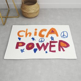 Chica Power  Rug