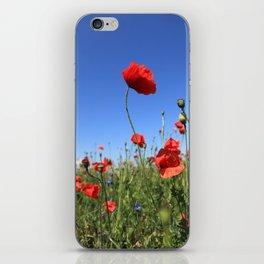 poppy flower no15 iPhone Skin