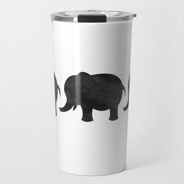 Three Baby Elephants Travel Mug