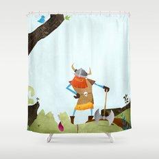 Hero Shot Shower Curtain