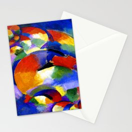 Morgan Russell Cosmic Synchromy Stationery Cards