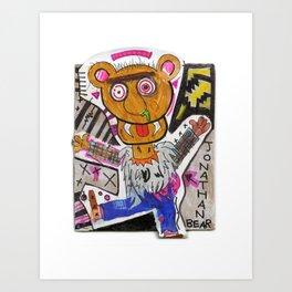 Jonathan Bear Art Print