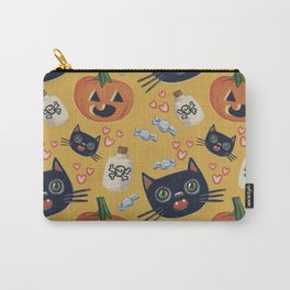 Kitty Cat Halloween  Carry-All Pouch