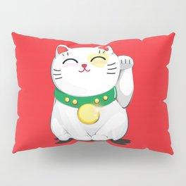 My Lucky Cat Pillow Sham