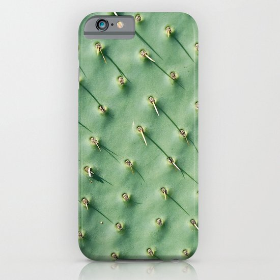 Cactus spikes iPhone & iPod Case