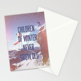 Children of Winter Stationery Cards