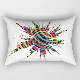 Explosions 3 Rectangular Pillow