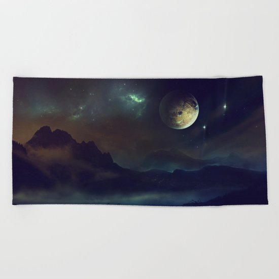 Another world Beach Towel