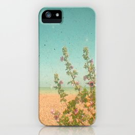 Flowers by the Sea iPhone Case