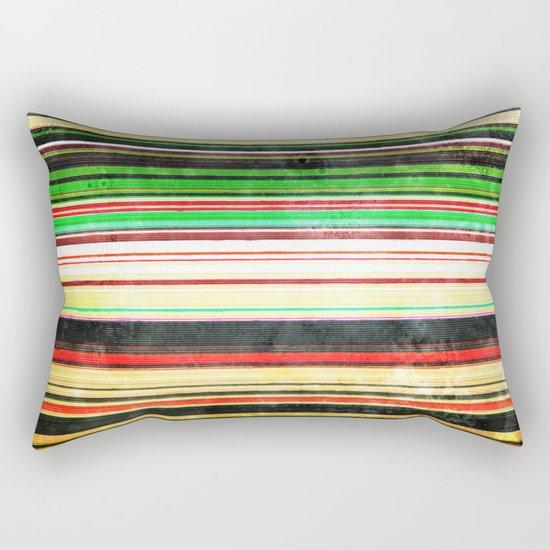 Vintage Stripes Rectangular Pillow