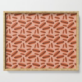 Hot dogs Serving Tray