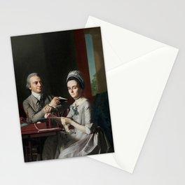 John Singleton Copley - Mr and Mrs Thomas Mifflin (Sarah Morris) Stationery Cards