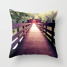 Let's Take the Long Road Throw Pillow