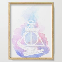 Hallows watercolors Serving Tray