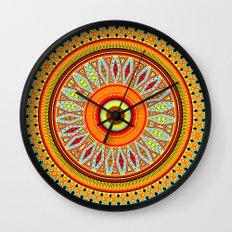 Mandala Aztec Pattern 5 Wall Clock