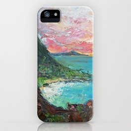 The Pitons, St. Lucia iPhone Case