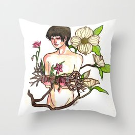 Belladonna Dreams: Deadwood Throw Pillow