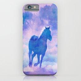 Horses run iPhone Case