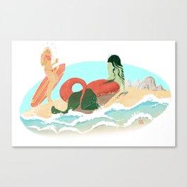 Shore: A Love Story Canvas Print