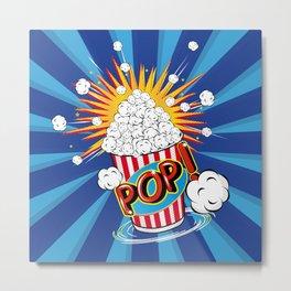Popcorn - POP! - Metal Print