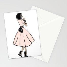 Bouclée Fashion Illustration Stationery Cards
