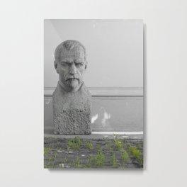 BIG HEAD No. 2 Metal Print