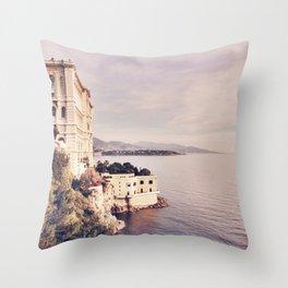 Oceanographic Museum of Monaco Throw Pillow