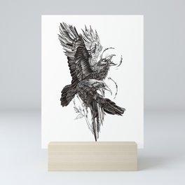 Ravens Mini Art Print