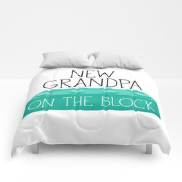 New Grandpa On The Block Comforters