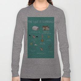 The Love of Running Long Sleeve T-shirt