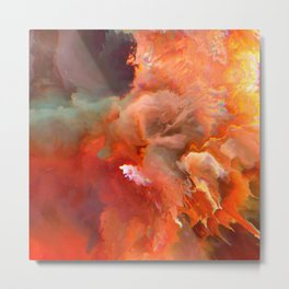Elefthería (Abstract 56) Metal Print