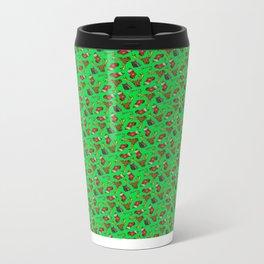 Merry Fucking Christmas Pattern Metal Travel Mug