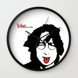 John Tongue Art Wall Clock