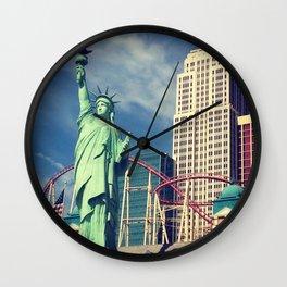 NYNY - PHOTO Wall Clock