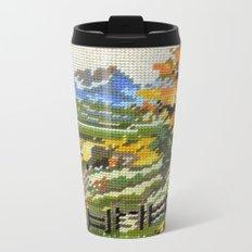 Found Tapestry Landscape Metal Travel Mug
