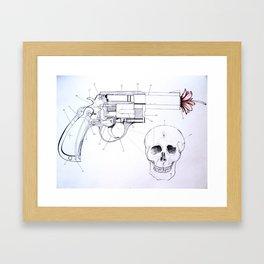 COUNTER PARTS Framed Art Print