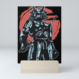 Cybersamurai Mini Art Print