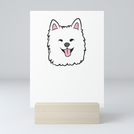 I Like Samoyeds And Maybe Like 3 People Mini Art Print
