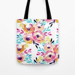 Bold Floral Tote Bag
