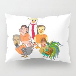 Flock of Felons Pillow Sham