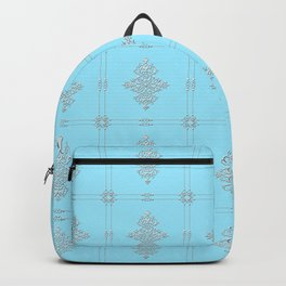 Encore Deco (light blue-silver) Backpack