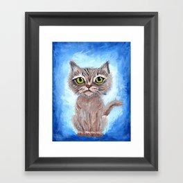 Kitty Kitty Framed Art Print