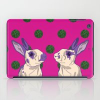 coral iPad Cases featuring coral by Gray