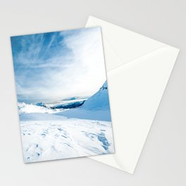 Mountain ice 2 Stationery Cards